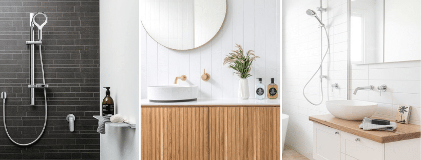bathroom makeover styling tapware